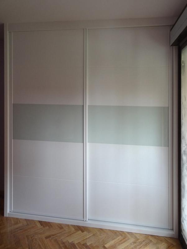 Armarios empotrados lacados en blanco good armario con - Armarios empotrados lacados en blanco ...