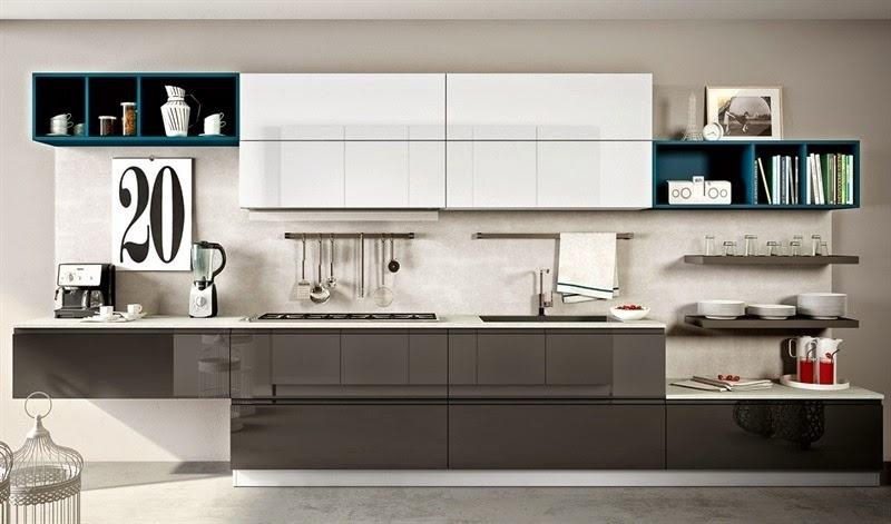 Cocina colores combinados for Muebles totana