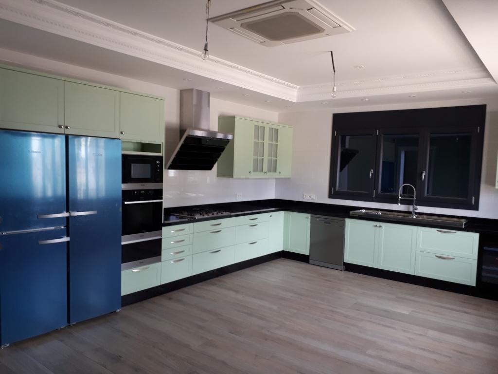 cocina modelo vizcaya color verde